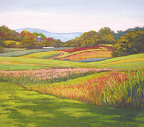 Brushes with Nature -- a show of pastels and paintings by Ruth Ann Smith, Marti Yeager, Anne Finucane and Laurie McKelvie -- continues through Tuesday, Sept. 4, at Washington County Arts Council in downtown Hagerstown.