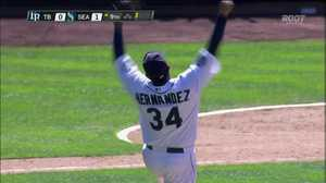 Felix Hernandez achieves perfection
