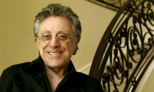 Frankie Valli at his home in Calabasas in 2008.