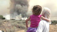 RANCHITA, Calif. -- Residents in Ranchita remained under mandatory evacuation orders for the second consecutive day Thursday as wildfires continued to threaten about 400 structures in the rural East County community, but previously evacuated San Felipe residents were back in their homes.