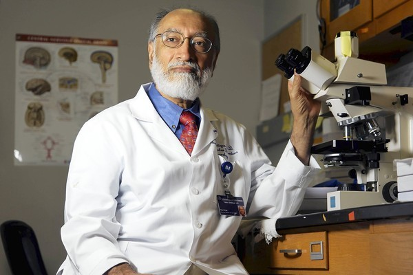 Dr. Teepu Siddique, a neurologist at Northwestern University's Feinberg School of Medicine, is a member of the team that discovered a common possible cause for all forms of ALS.