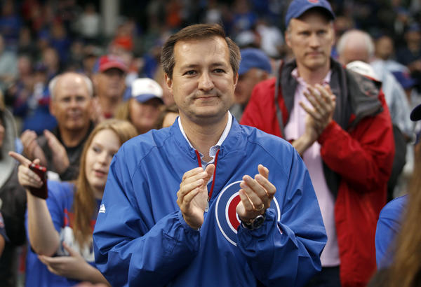 Chicago Cubs chairman Tom Ricketts.
