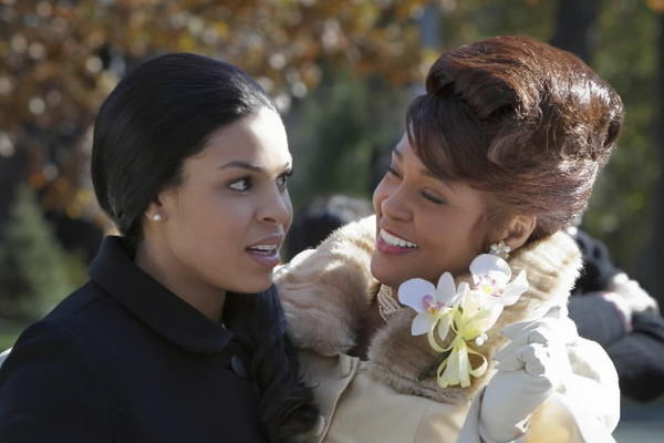 "Jordin Sparks and Whitney Houston star in ""Sparkle."""
