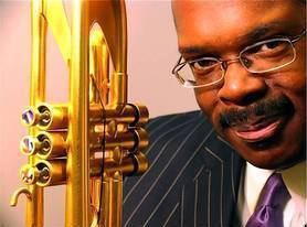 Scott Barnhart has been playing jazz trumpet with the Count Basie Band for 20 years. The band performs Aug. 23 at Harkness State Park in Waterford.
