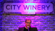Lewis Black goes from zero to peripatetic faster than almost anybody you've met, or seen.