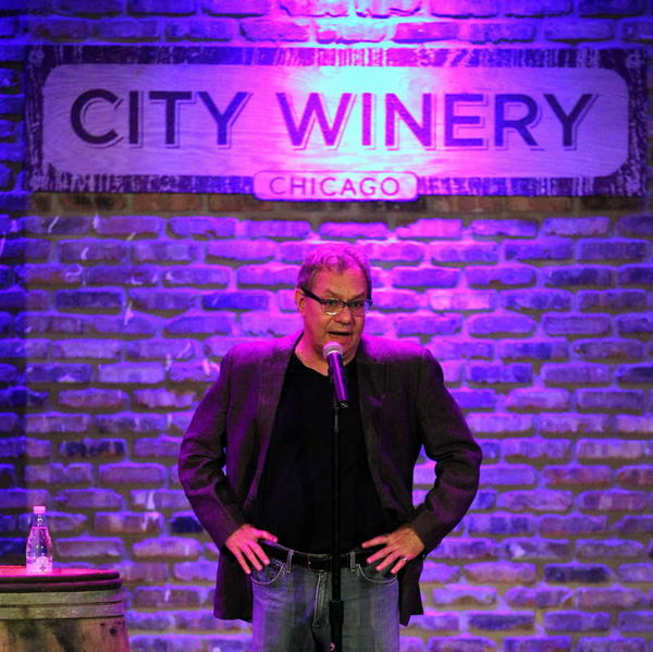 Comedian Lewis Black performs at City Winery on Wednesday night.