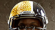 PHOTOS: Notre Dame's new look for Miami Hurricanes game