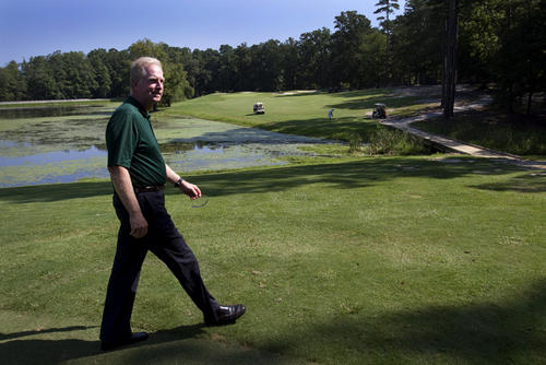 Golf course architect Tim Liddy, is redesigning the Cardinal course into a links-style course.  The Cardinal course is 18 holes with one side ((holes) that newer.