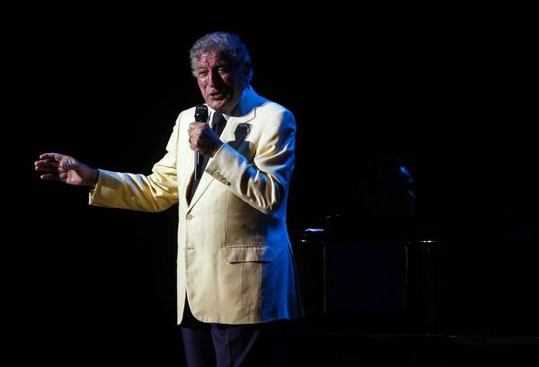 Tony Bennett performs at Ravinia last year.
