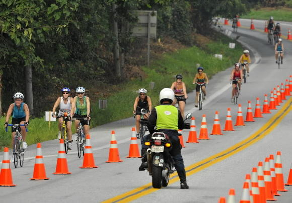 Howard County police are expecting delays on Sunday, Aug. 19 for the Athleta Iron Girl Triathalon.