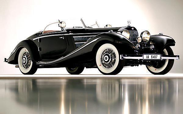 1936 Mercedes-Benz 540K | The Von Krieger Special Roadster - 1936 Mercedes-Benz 540K