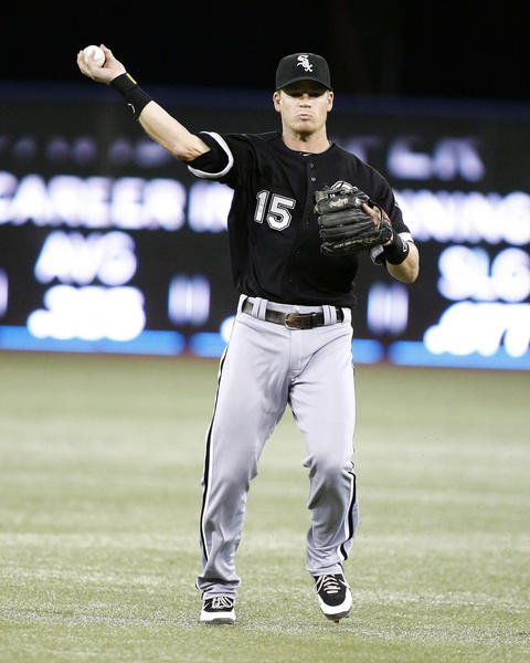 Chicago White Sox second baseman Gordon Beckham.