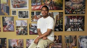 Baltimore County grad wins national art awards