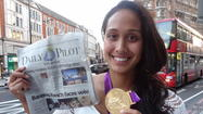 Photo: Local Olympian in London
