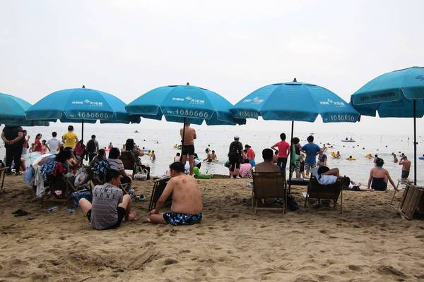 A short stretch of the beach at Beidaihe, the enclave to which the Chinese leadership decamps during the summer, is open to the public. The area is also popular with foreign visitors.