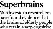 Graphic: How the brain is different in superagers.
