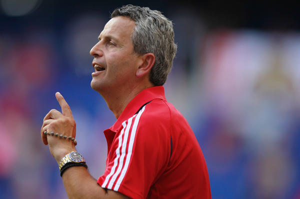 Fire coach Frank Klopas hopes to find the right man to replace injured Logan Pause.