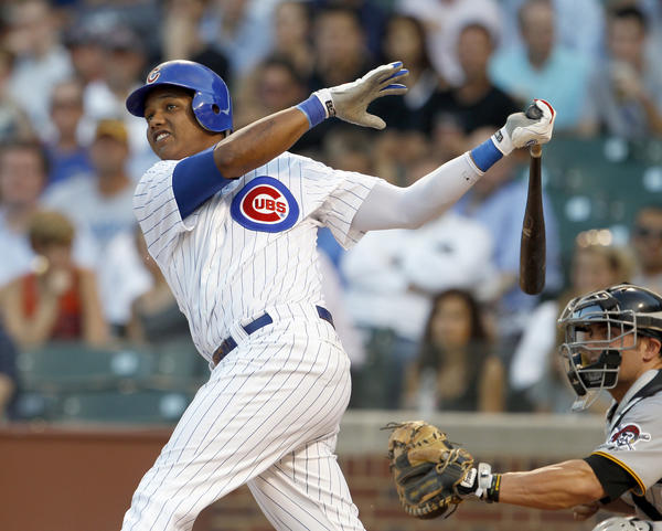 The Cubs are working on a long-term contract extension for shortstop Starlin Castro.