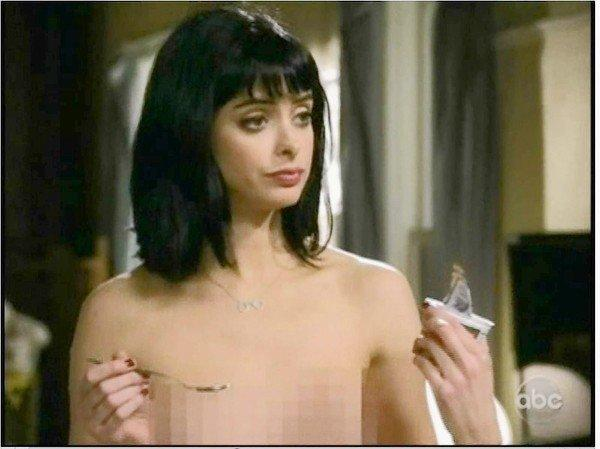 "Krysten Ritter is pixeled in the show ""Don't turst the B---- in Apt. 23."""