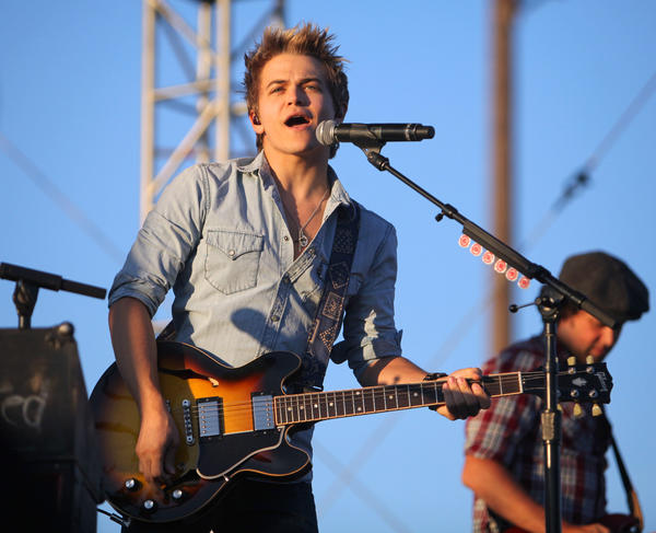 Country singer Hunter Hayes performed Thursday night at the Brown County Fair in Aberdeen.
