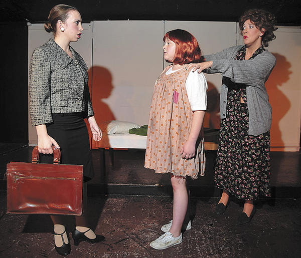 "'Annie,"" the Broadway musical about Little Orphan Annie, a spunky girl adopted by a business tycoon, closes this weekend at Washington County Playhouse Dinner Theater in downtown Hagerstown. Final showtimes are 6 p.m. Friday, Aug. 17, and Saturday, Aug. 18."
