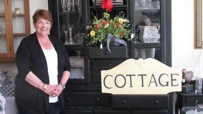 Kathi Morris is the owner of The Painted Cottage, a downtown Petoskey consignment shop focusing on home decor items.