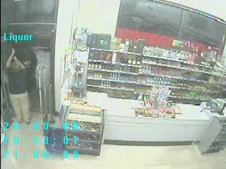 A gunman robbed a Walgreens liquor store in Deerfield Beach as the employee was closing up shop