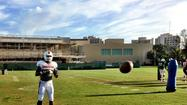 CORAL GABLES -- Good morning, sports fans. It's practice time in Coral Gables once again and there's news to report. Let's cut to the chase.