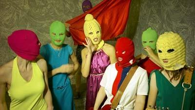 The Russian band, Pussy Riot, was sentenced to two years in prison