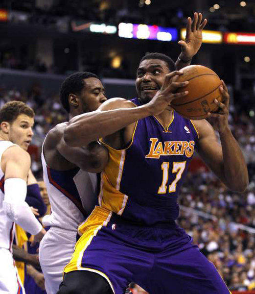 Andrew Bynum provided plenty of memorable moments during his seven seasons with the Lakers.