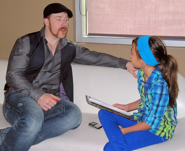 WWE champion Sheamus answers some questions from Hannah Mitchell.