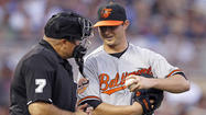 Orioles notes: Zach Britton joins team in Detroit