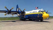 On tonight's WGN News, we took a ride on the Blue Angels' Hercules C-130, better known to Chicago Air and Water Show goers as Fat Albert.