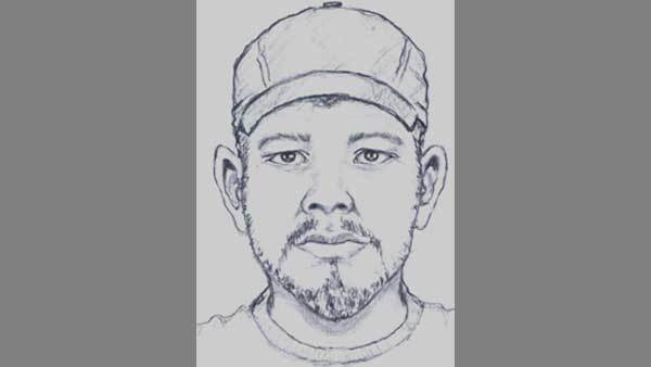 Sketch of suspect wanted in attempted kidnapping