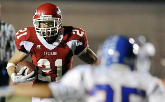 The success of running back Zander Anding was one of the highlights for Burroughs during the 2011-12 campaign.