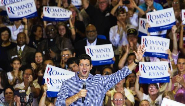 Rep. Paul D. Ryan of Wisconsin, the Republican running mate, is scheduled to appear in Florida on Saturday with his 78-year-old mother.