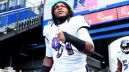 Ravens linebacker Courtney Upshaw makes his NFL debut