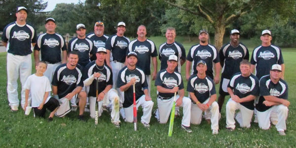 Northwestern Mutual won the Hub City Softball league championship this season. From  left to right -- Front row: Frankie Robinson Jr. (bat boy), Frankie Robinson, Arthur Fischer, Chris Chaney, coach Ed Lough, manager Rodney Heller, Billy Smoot and Mick Byers. Back row: Rocky Wills, Johnny Hartle, Brent Cave, coach Randy Kretzer, Tommy Brown, Curty Myers, Dale Reed, Brad Weaver, Jason Johnson and D.J. Jenkins. Not pictured: Thomas Giffin, Chris Wills and Ronnie Brown.