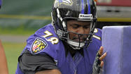 When Bryant McKinnie reported to Ravens training camp on July 30, the thought was that it wouldn't be too long before the 11-year veteran regained his role as the starting left tackle.