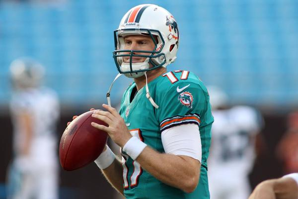 New coach Joe Philbin names rookie Ryan Tannehill the starter after beating out incumbent Matt Moore in preseason.