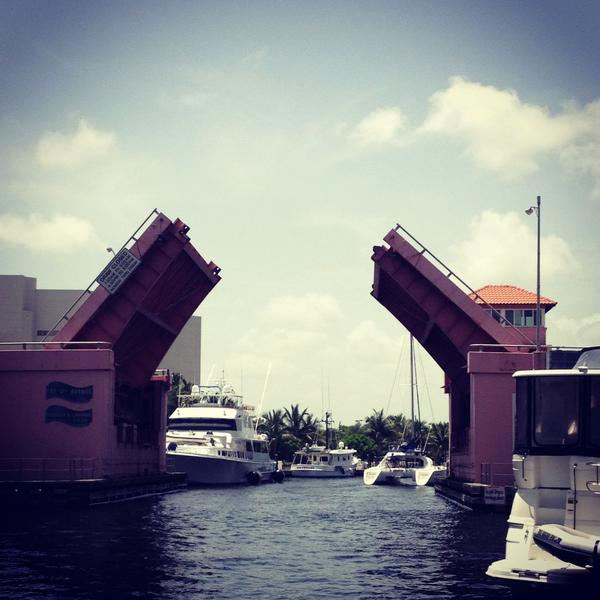Kelliann McDonald, of Pembroke Pines, took this photo of the SE 3rd Ave drawbridge while strolling along the New River in Fort Lauderdale.