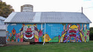 Barnstorming artist takes murals to every Md. county