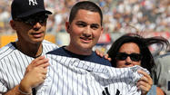 Pictures: Colby Salerno Honored At Yankee Stadium