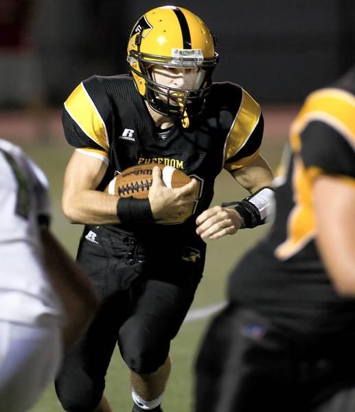 Freedom quarterback Brian Uliana