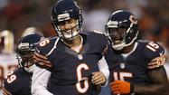Jay Cutler sat out the Bears' first exhibition game but did not look the least bit rusty in his debut Saturday night at Soldier Field.