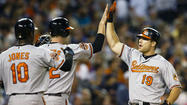 Britton's 7 scoreless innings, Davis' 3-run homer lift Orioles over Tigers