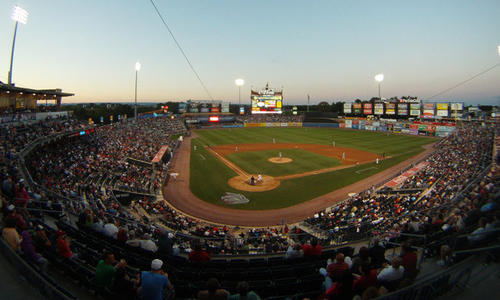 IronPigs take on the Toledo Mud Hens Saturday evening at Coca Cola Park.