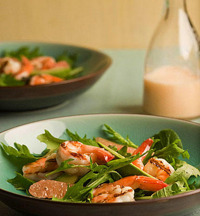 Grapefruit soda dressing