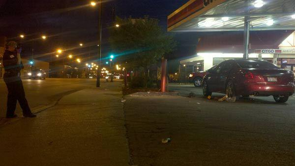 A man was driven here after being shot about a mile south on Aug. 19, 2012.