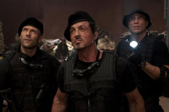 """Expendables 2"" was No. 1 at the box office"